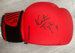 Hand Signed Katie Taylor Boxing Glove With Proof And Coa