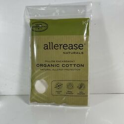 AllerEase Organic Cotton Allergy Protection Pillow Protectors King Size