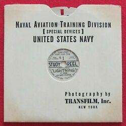 Wwii Usn View-master P-38 Lightning Spotter Id Recognition S1 Study Reel Buaero