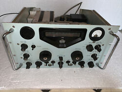 Racal Ra-17c-12 General Coverage Receiver All New Capacitors Works Great