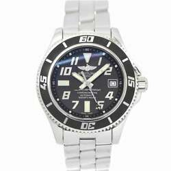Breitling Super Ocean 42 A17364 Date Automatic Black Dial Mens Watch 90139470