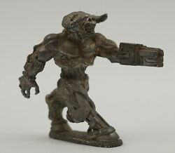 Vintage1996 Doom Reaper Pewter Miniatures Cyber Demon Video Game Product