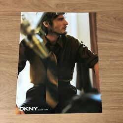 Stw5 Wallpaper Magazine Advert 11x8 Dkny For Men - Shirts And Ties