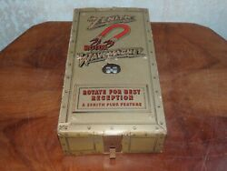 Vintage Zenith Wave Magnet Rotor Antenna For Antique Console Radio