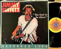 Jimmy Buffett You Had To Be There Live Vinyl 2 Lp Abc Margaritaville Come Monday