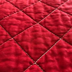 New Hudson River Valley Red Quilt / Queen