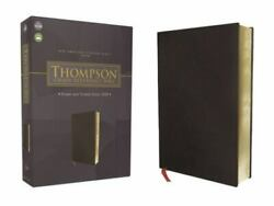 Nasb Thompson Chain-reference Bible, Bonded Leather, Black, Red Letter, 1977 Tex