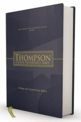 Nasb Thompson Chain-reference Bible, Hardcover, Red Letter, 1977 Text - Zonderva