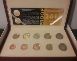 Best Price🅰️ Greece 2013 Proof 8 Euro Coin Set 🅰️,+ 2 Euro Coins Commemorative