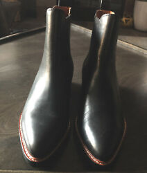 Coach Black Leather Bowery Chelsea Ankle Boots