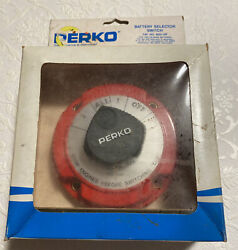 Perko Boat Battery Switch 8501 Dp Battery Selector Switch New