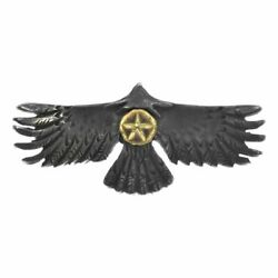 The Bingo Brothers Pendant Eagle K24 Gold Star Silver Black Gray Cool Necklace
