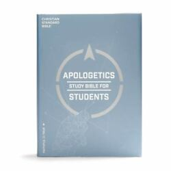 Csb Apologetics Study Bible For Students, Hardcover, Indexed - Csb Bibles By Hol