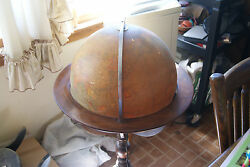 Antique Rand Mcnally 16 Ball 1930and039s On Stand Lighted Indexed Terrestrial Art Gb