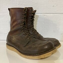 Vintage Red Wing 877 Irish Setter Boots Dog Tag Size 9