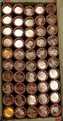 50 1994 P Lincoln Memorial Cent Penny Rolls Of 50 Coins Uncirculated Bu Box1