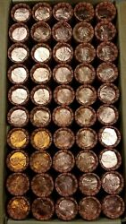 50 1994 P Lincoln Memorial Cent Penny Rolls Of 50 Coins Uncirculated Bu Box2