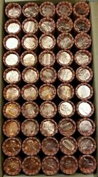 50 1994 P Lincoln Memorial Cent Penny Rolls Of 50 Coins Uncirculated Bu Box3