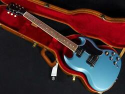 Gibson Sg Special 2019 Faded Pelham Blue Dot Inlays Electric Guitar With Case