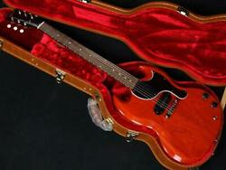 Gibson Sg Junior Vintage Cherry Electric Guitar + Case Made In Usa S/n 201210258