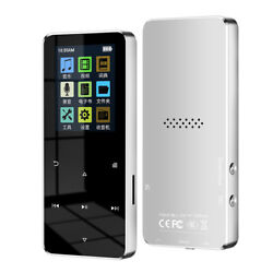 Metal Mp3 Player Touch Screen 32g Bluetooth Mp3 Music Player For Students