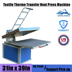 31 X 39in Clamshell Thermo Sublimation Transfer Heat Press Machine 6600w 1p 220v