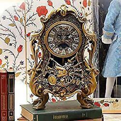 Live Beauty And The Beast Cogsworth Clock Figure Limited To World 2000 Points
