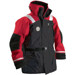 First Watch Ac-1100 Flotation Coat - Red/black - X-large