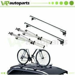 For Silver 50 Universal Package Cargo Roof Rack Crossbar Rack Mounted Bicycle