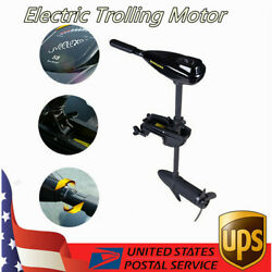 58lbs Electric Trolling Motor Outboard Engine Rubber Inflatable/fishing Boat 12v