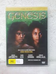 The Bible Collection Genesis - Dvd - The Creation And The Flood Region 4