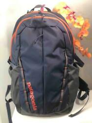 Menand039s Refugio 28l Backpack In Navy Blue And Orange