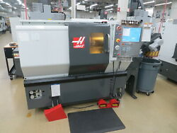 Haas St-10 Cnc Turning Center W Tailstock And Chip Conveyor