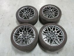 2013-14 Ford Mustang Shelby Gt500 Oem Factory Wheels 11k Miles 076