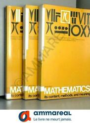 Mathematics Its Content Methods And Meaning