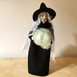 Byers Choice 2021 Witch With Ball - A Halloween Treat