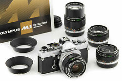 Olympus M-1 Dream Outfit With 4x M-system Lenses Rare