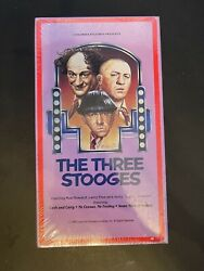 Three Stooges Perfect Condition Vhs Sealed Igs Watermark Brand New 🔥🔥🔥