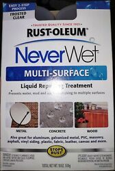 Never Wet Rust-oleum 18 Oz Multi Surface Protector Spray Kit Waterproof 2 Cans