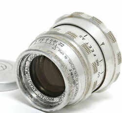 Taylor Hobson 2/2 Inch Amotal Cooke For Leica L Mount W. Coupling F. Rf