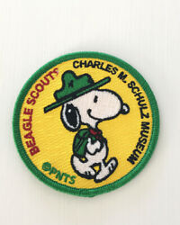 Snoopy Beagle Scout Patch from Charles Schulz Museum NEW