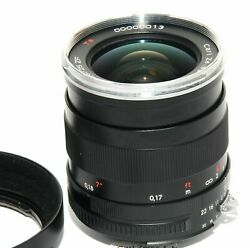 Carl Zeiss For Nikon 25 Mm F / 2.8 Distagon Zf T