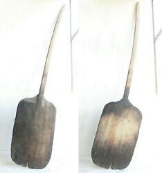 54 Old Antique Primitive 18's Wooden Bakery Dough Bread Board Pizza Peel Paddle