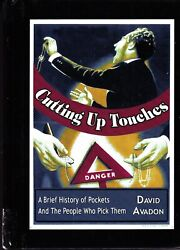 Cutting Up Touches-david Avadon-pickpocket Book-1st Ed Stage Magic Illusion-oop