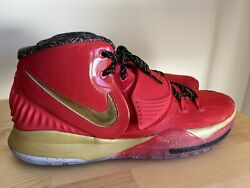 Nike Kyrie 6 As Shoes Cd5026-900 All Star Trophies Gold Red Mens Size 18 New