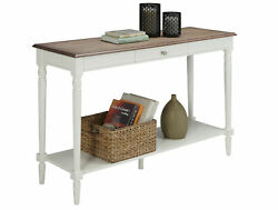 Convenience Concepts French Country 1 Drawer Console Table With Shelf R3-0182