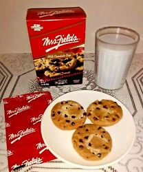 Fake Play Food Chocolate Chip Cookies And Milk + Box Theater Display Prop Nabisco