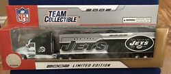 New York Jets 180 Nfl 2002 Tractor Trailer Diecast Collectible Truck New In Box