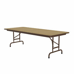 Correll Adjustable Height High Pressure Top Folding Table Cfa3060px-16