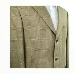 PALM BEACH Size 46 LONG Mens Blazer Sport Coat Jacket Lined NEW WITH TAGS $26.75